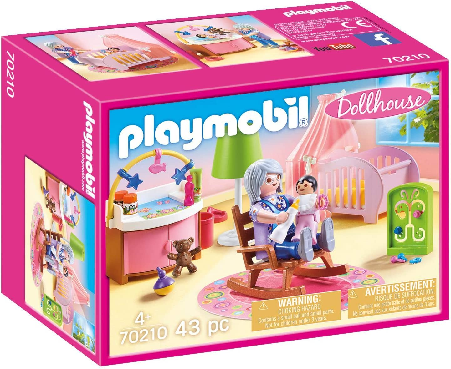 PLAYMOBIL Nursery Furniture Pack
