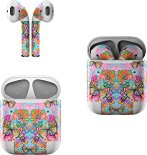 product image for Skin Decals for Apple AirPods - Free Butterfly - Sticker Wrap Fits 1st and 2nd Generation