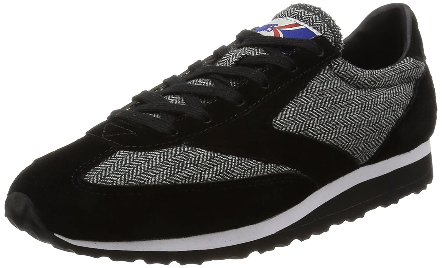 Brooks Heritage Womens Vanguard B00MCPUKNS 8.5 B(M) US|Black Tweed
