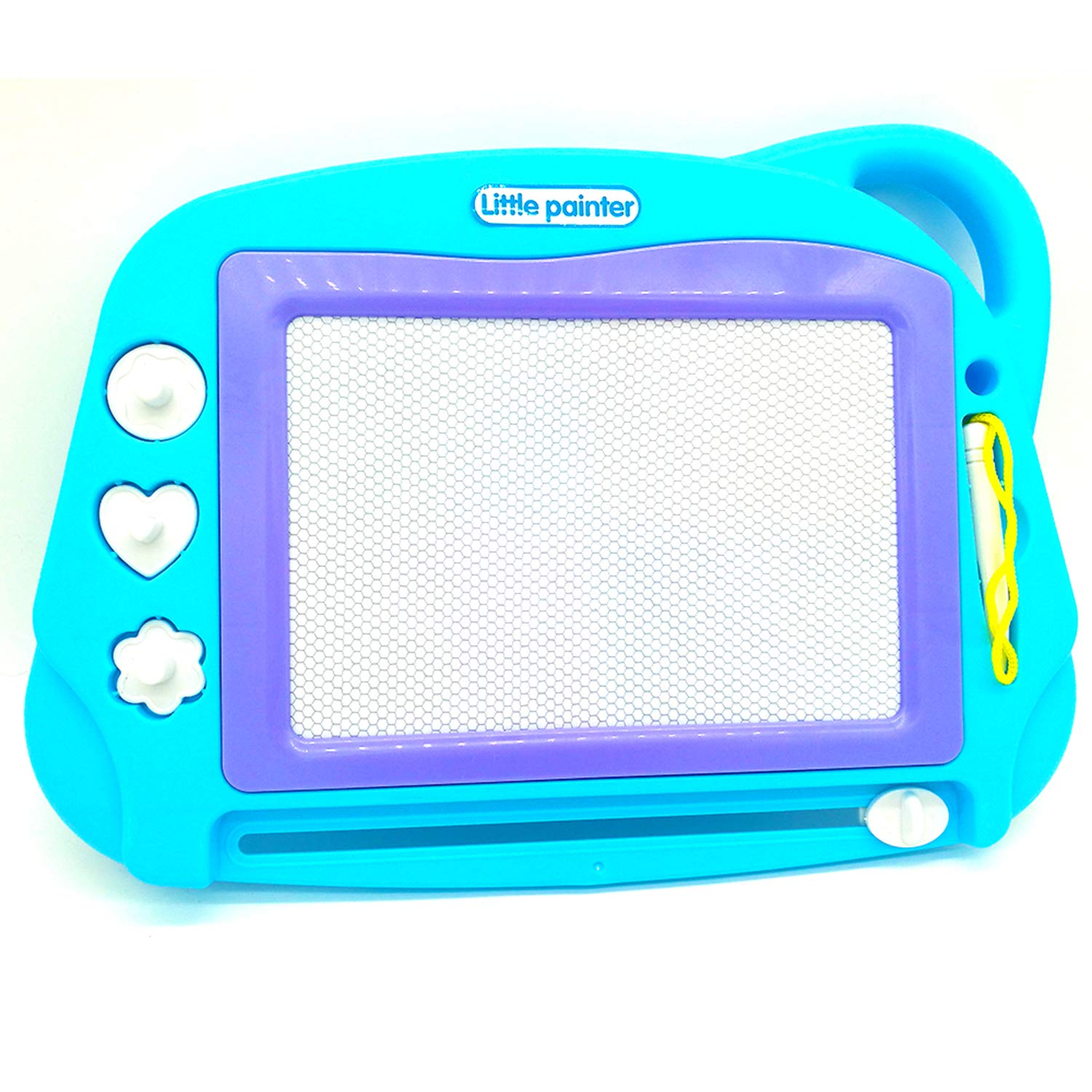 PH Children's Enlightenment Drawing Board Pattern Seals Non-Toxic Big Magnetic Erasable Magna Doodle Toys Writing Painting Learning(Travel Size)