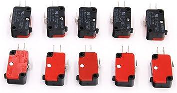 RuoFeng - Interruptor de microondas para puerta de horno (10 ...