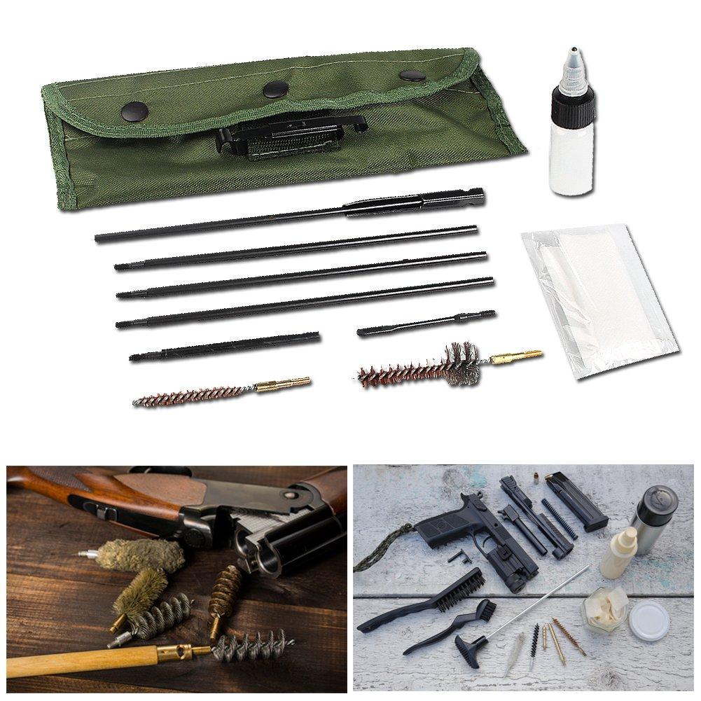 20/ Knighttec Pistola Kit de Limpieza Set cepillos Limpiador de Herramientas Universal Culata para 5.56/mm /25/Caliber Rifle Pistola Escopeta