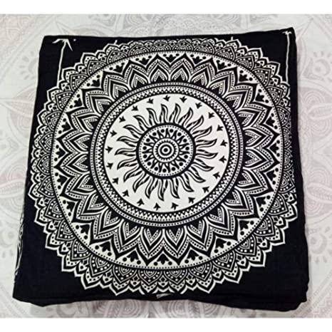 Indio Mandala tapiz perro cama, cojín, Boho suelo funda de ...