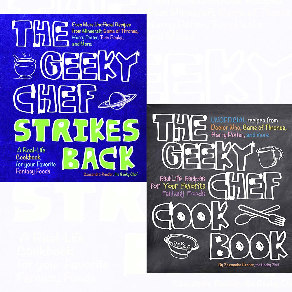 The geeky chef strikes back and the geeky chef cookbook flexibound the geeky chef strikes back and the geeky chef cookbook flexibound 2 books collection set even more unofficial recipes from minecraft real life recipes forumfinder Gallery