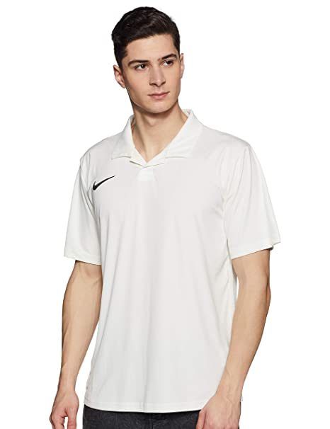 d18462f5 Nike Men's Solid Regular fit Polo (542279-101_Sail/Black_Xx-Large ...