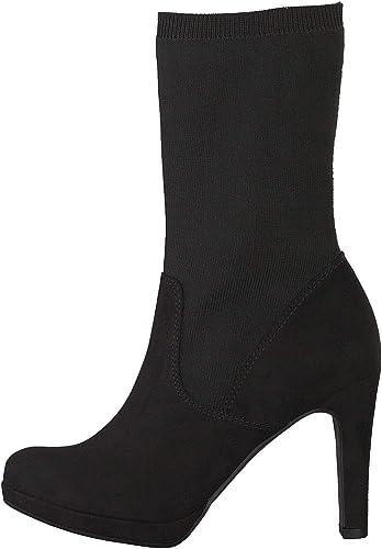 Tamaris Damen Stiefeletten Woms Boots 1 1 25089 31001 schwarz 539832