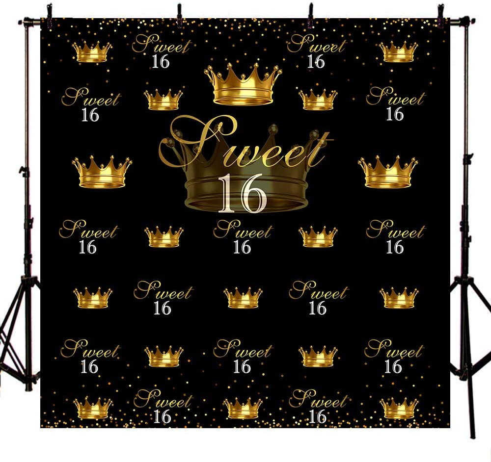 Mehofoto Happy 60th Birthday Backdrop Bling Gold and Purple Birthday Photography Backdrops 7x5 Balloons Heels Champagne Glass Fabulous Vinyl Background Birthday Party Decorations Supplies
