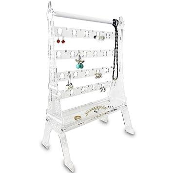 Amazoncom Ikee Design Acrylic 44 Pairs Jewelry Earring Organizer