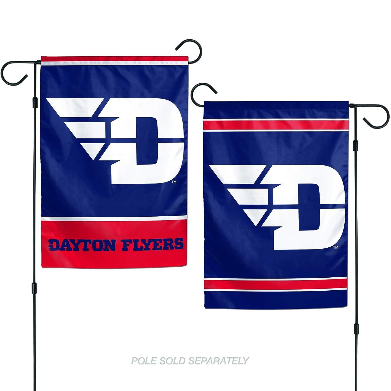 Team Colors One Size WinCraft NCAA Dayton Flyers Flag12x18 Garden Style 2 Sided Flag