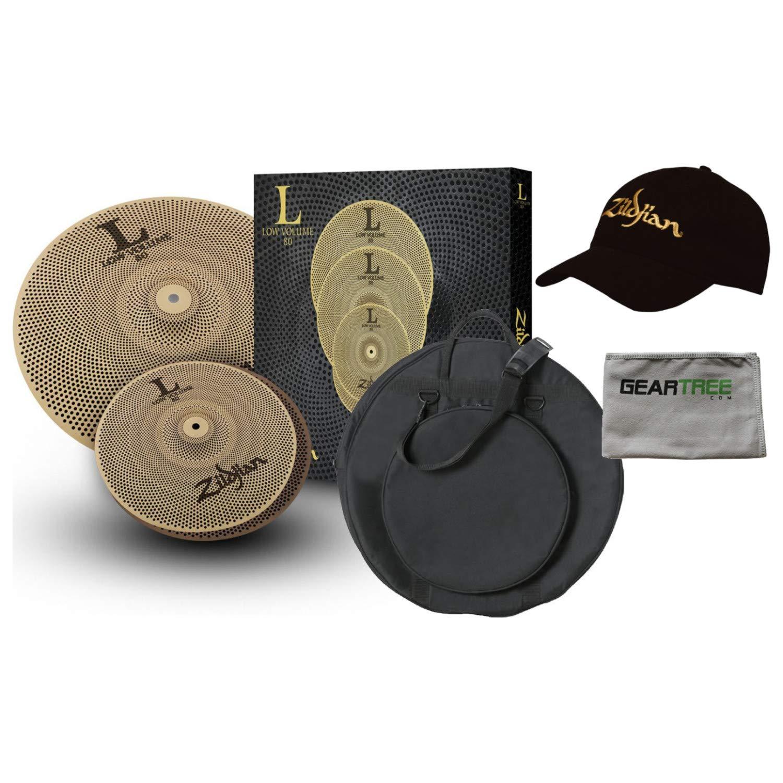 Zildjian LV38 LOW VOLUME L80 13/18 BOX SET with Gig Bag by Avedis Zildjian Company