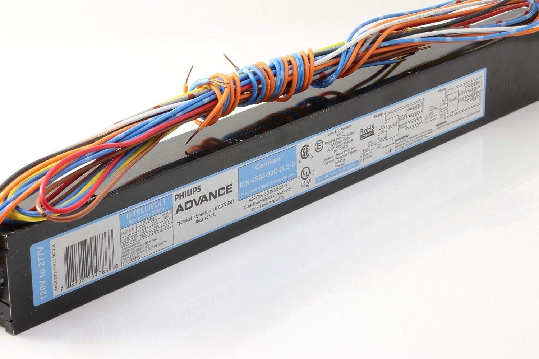 2pk Phillips Advance fluorescent light ballast 120v