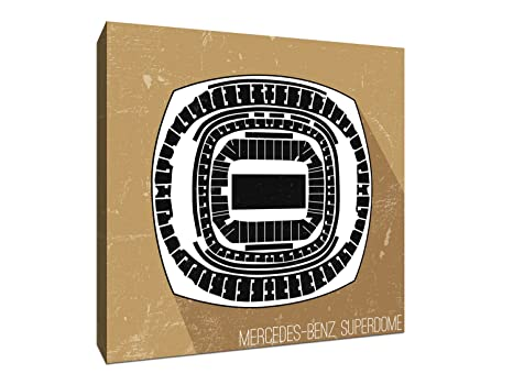 Amazon.com: Mercedes-Benz Superdome - Football Seating Map ... on map of the northeastern united states, map of the dodger stadium, map of the edward jones dome, map of the global south, map of the pepsi center, map of the port of new orleans, map of the asia pacific region, map of the los angeles area, map of the tampa bay area, map of the cowboys stadium, map of the lincoln financial field, map of the dc area, map of the former soviet union, map of the greater boston area, map of the spillway, map of the georgia dome, map of the aquarium, map of the tri-state area, map of the blue river, map of the lincoln memorial,