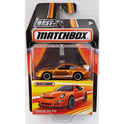 PORSCHE 911 GT3 COPPER BEST OF MATCHBOX RUBBER TIRES RR 2016: Toys & Games