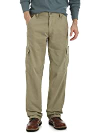 df4b9e3d4a Wrangler Authentics Men's Classic Twill Relaxed Fit Cargo Pant