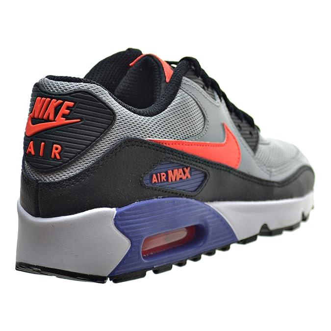 online retailer 8ae58 663e8 Amazon.com   Nike Air Max 90 Mesh(GS) Big Kids Shoes Wolf Grey Crimson Dark  Purple 833418-002 (6 M US)   Running