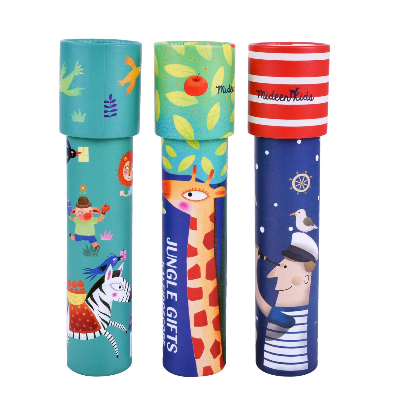 Fengirl Kids Classic Paper Kaleidoscope, Best Gift Idea, 3 Pack