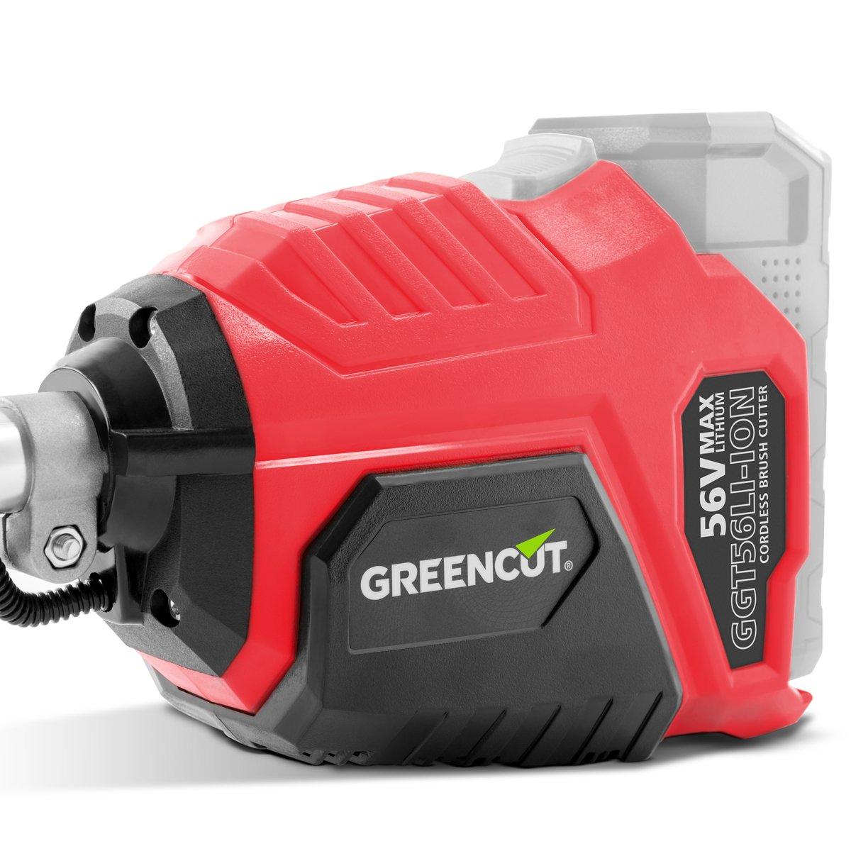 Greencut GGT56LI-ION - Desbrozadora con batería de lítio, 56V - 2 ...