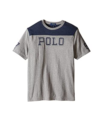 4263b5a105 BOY'S RALPH LAUREN COTTON JERSEY GRAPHIC TEE (SM)
