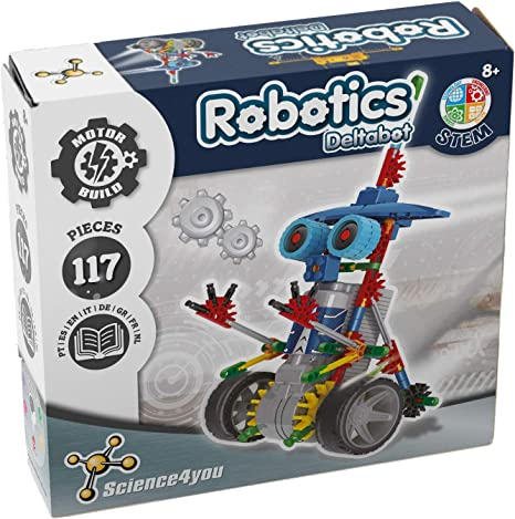 Science4you-Robotics Robotics Deltabot - Juguete Científico y ...
