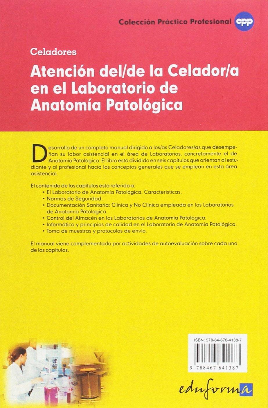 Buy Atencion del/de la Celador/a en el Laboratorio de Anatomía ...