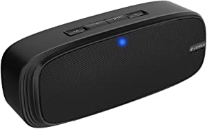 LENRUE Bluetooth Speaker, Wireless Portable Speaker with Loud Stereo Sound, Rich Bass, 12-Hour Playtime, Built-in Mic. Perfect for iPhone, Samsung and More