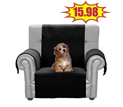 Stupendous Jiater Improved Non Slip Pet Dog Sofa Chair Slipcovers Living Room Couch Covers Furniture Protectors Black Chair Bralicious Painted Fabric Chair Ideas Braliciousco