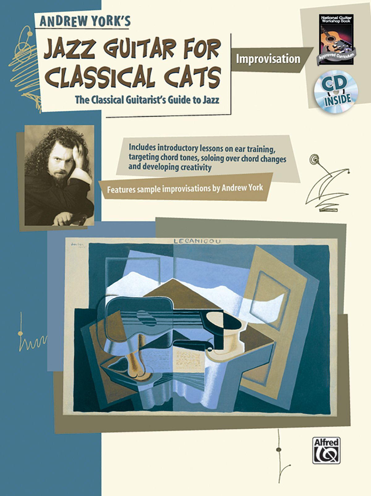Jazz Guitar for Classical Cats: Improvisation (The Classical Guitarist's Guide to Jazz, Book & CD (National Guitar Workshop) pdf