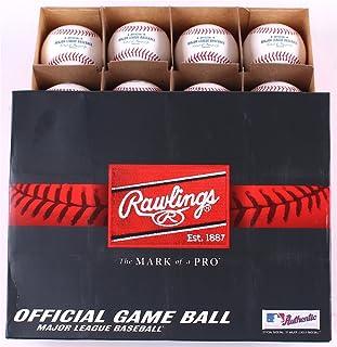Officiel Cuir Major League Jeu Baseballs à partir de Rawlings–(Une Douzaine)