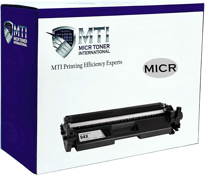 MICR Toner International Compatible Magnetic Ink Cartridge Replacement for HP CF294X 94X Laserjet Pro M118dw M148dw MFP M148fdw MFP