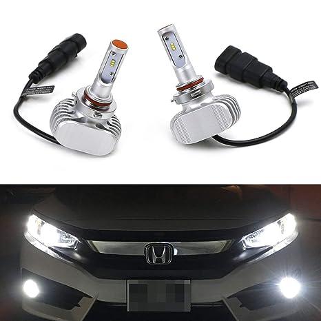 ijdmtoy (2) de alta potencia LED bombillas para faros delanteros – 9005 9006 H10