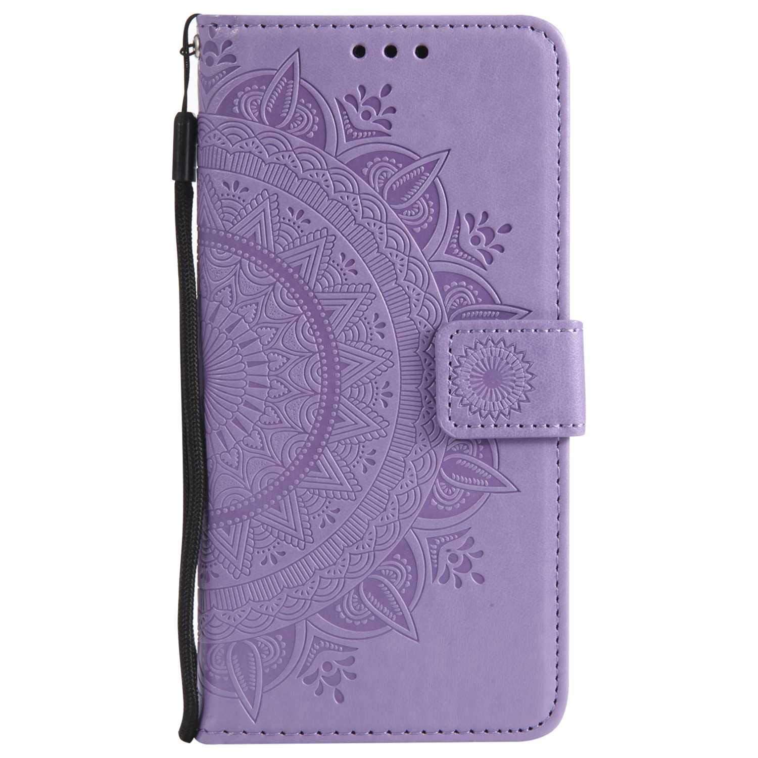 iPhone 7 8 Case, The Grafu Leather Case, Premium Wallet Case with [Card Slots] [Kickstand Function] Flip Notebook Cover for Apple iPhone 7/8, Purple