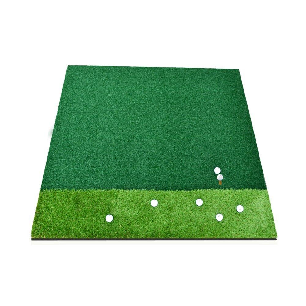 Mei Xu ゴルフプラクティスマット ゴルフ屋内練習マットパットプラクティスマット150×150cm トレーニング機器   B07LD63L88