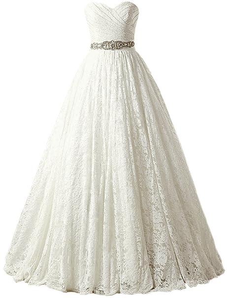 Solovedress vestido de fiesta de las mujeres de encaje de la princesa vestido de novia 2017