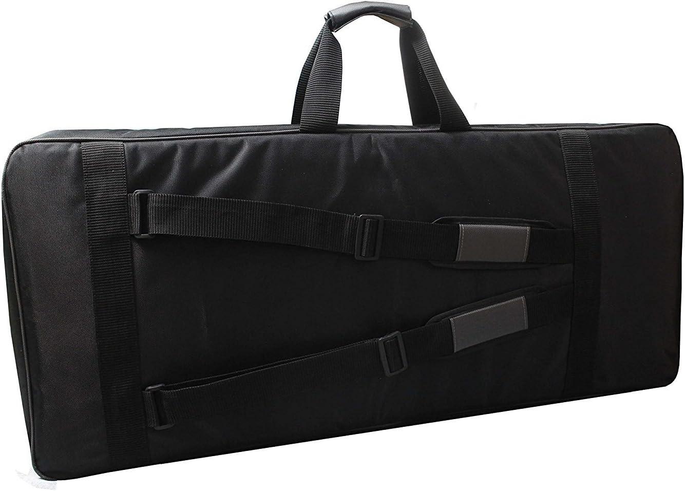 Baritone Distribution Case For Yamaha PSR-EW300 76-key Keyboard Heavy Padded Black Gig Bag