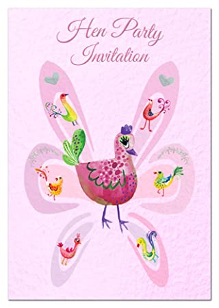 Cheap Packs Hen Party Invites Exclusive Pack Of 24 Cards