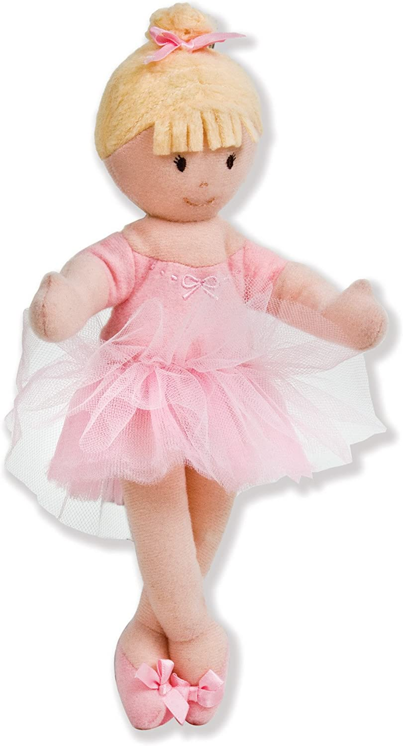 North American Bear Company Girls on The Move Gymnast Tan Finger Puppet