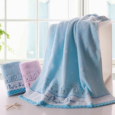 Toallas CHENGYI baño de algodón Puro para el hogar baño absorbentes para el hogar baño *
