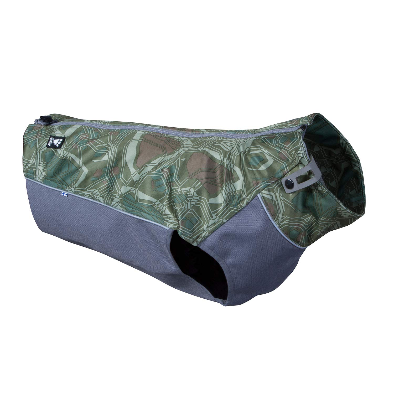Hurtta Worker Vest, Hunting/Sportsman Dog Vest, Green Camo, XL