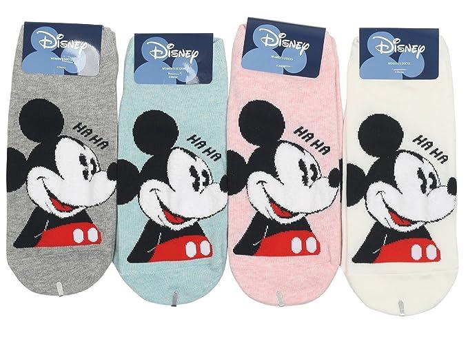 Mujeres Disney Mickey y amigos no show calcetines de dibujos animados: Amazon.es: Ropa y accesorios