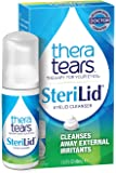 TheraTears Sterilid Eyelid Cleanser, Lid Scrub for Eyes and Eyelashes, Contains Tea Tree Oil, 48 mL, 1.62 Fl oz Foam…