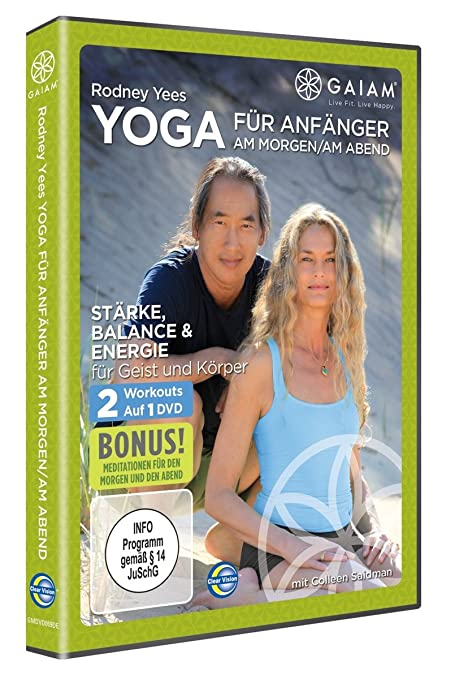 Amazon.com: Rodney Yee s am/PM Yoga para principiantes DVD ...