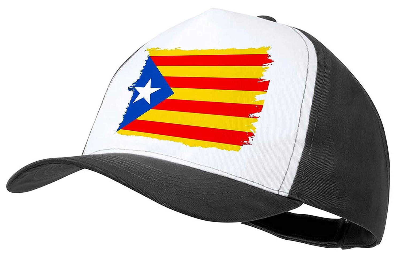 MERCHANDMANIA Gorra Bandera CATALU/ÑA Independencia Color Cap