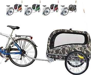 Polironeshop Snoopy - Remolque de bicicleta para el transporte de ...