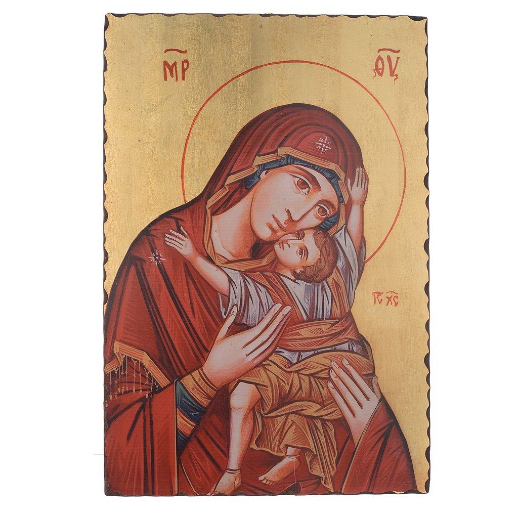 Holyart Icona serigrafata Madonna Kardiotissa 60x40 cm