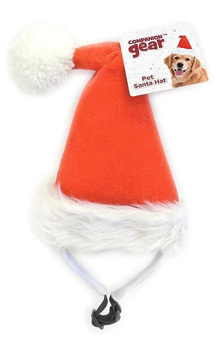 baf610b565724 Amazon.com   Companion Gear 70059 Holiday Pet Santa Hat