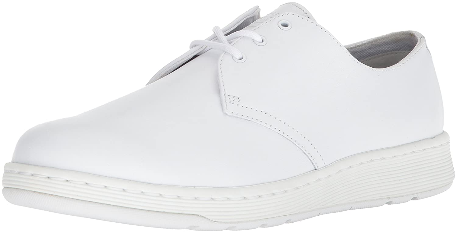 Dr. Martens Women's Cavendish White Mono Sneaker B071WZ2Q2G 6 Medium UK (US Women's 8, US Men's 7 US)|White