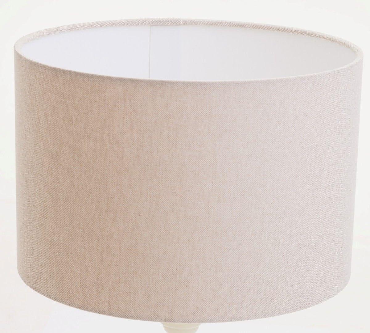 16 (40cm) Cream Linen Look Lamp Shade