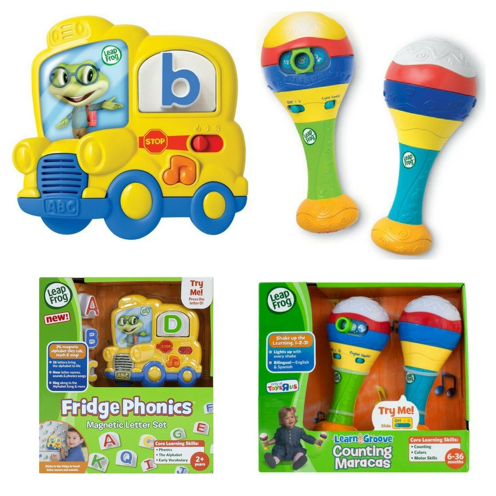 LeapFrog Learn & Groove Counting Maracas and LeapFrog Fridge Phonics Magnetic Alphabet Letter Set, Learn Basic Skills, Fun Educational Activity for Kids, Development Toys, Baby Perfect Gift Bundle