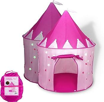 Foxprint Princess Pink Castle Play Tent