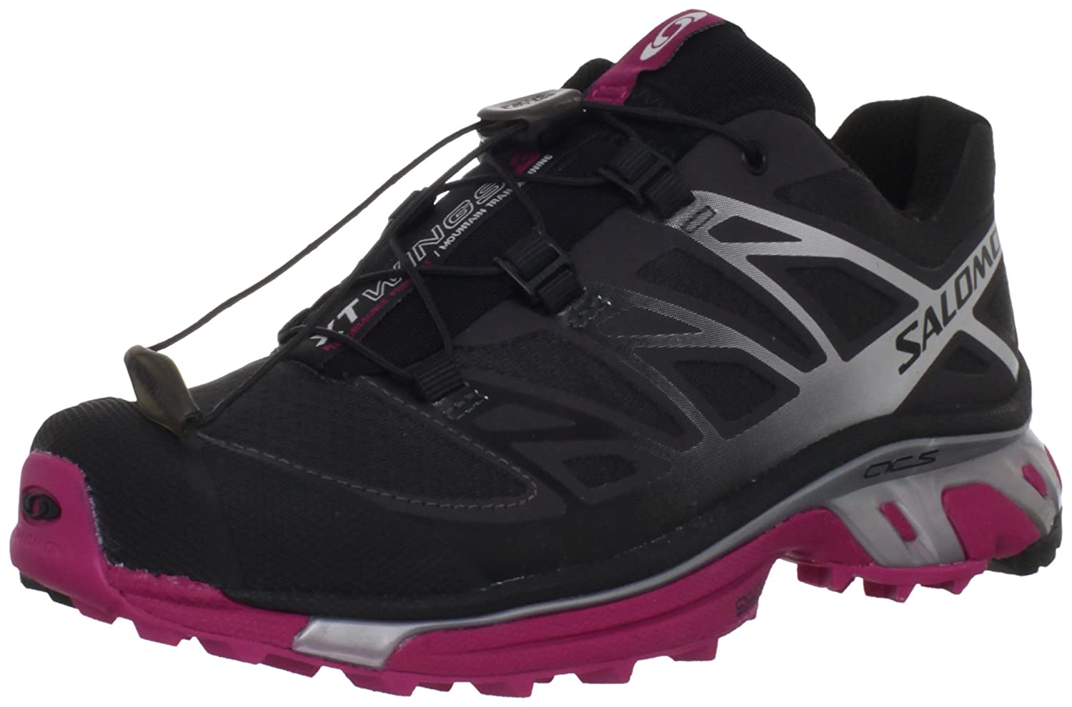 quality design 528d8 a7d58 Salomon Women s XT Wings 3 Trail Running Shoe, Asphalt Silver  Metallic Fancy Pink, 9 M US  Amazon.co.uk  Shoes   Bags
